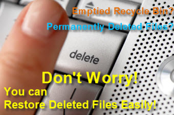 How to recover deleted files from recycle bin and files ...