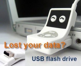 Lost Data on USB flash drive