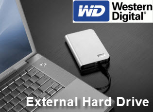 Western Digital My Passport Essential External Hard Drive