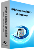 iPhone Backup Unlocker for Windows