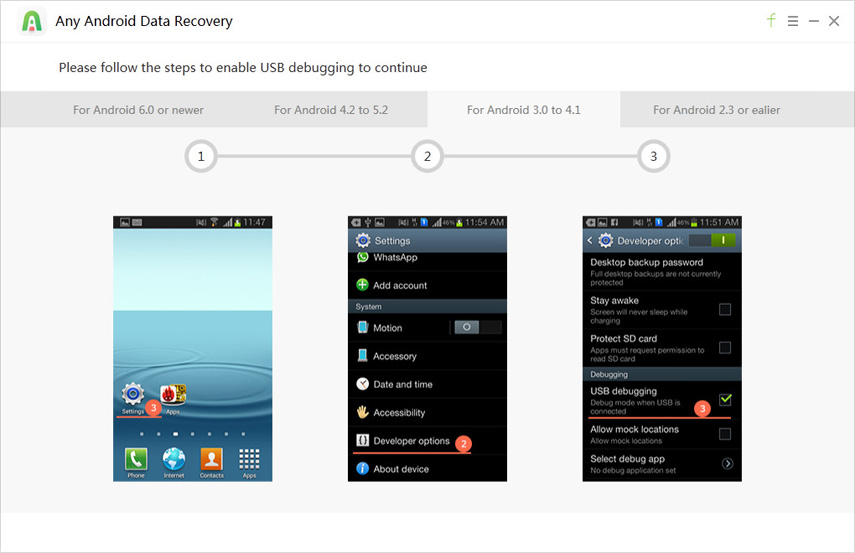 how to recover data from android