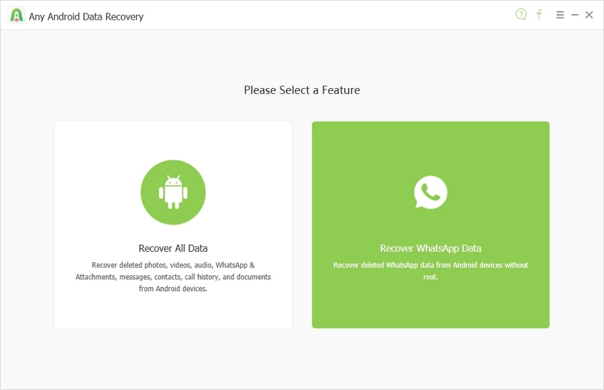 Guide to Use Any Android Data Recovery