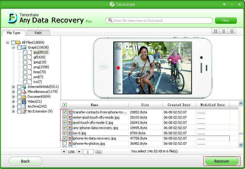 recover lost data from hard drive