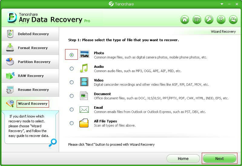 recover deleted data pressing shift delete