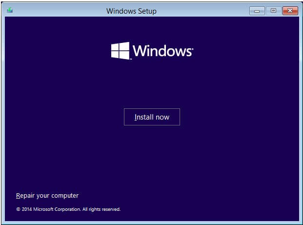 windows 10 system image recovery