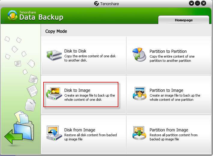 how to backup disk data