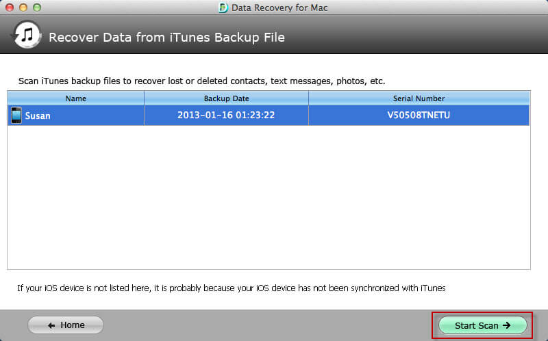 retrieve iphone data mac