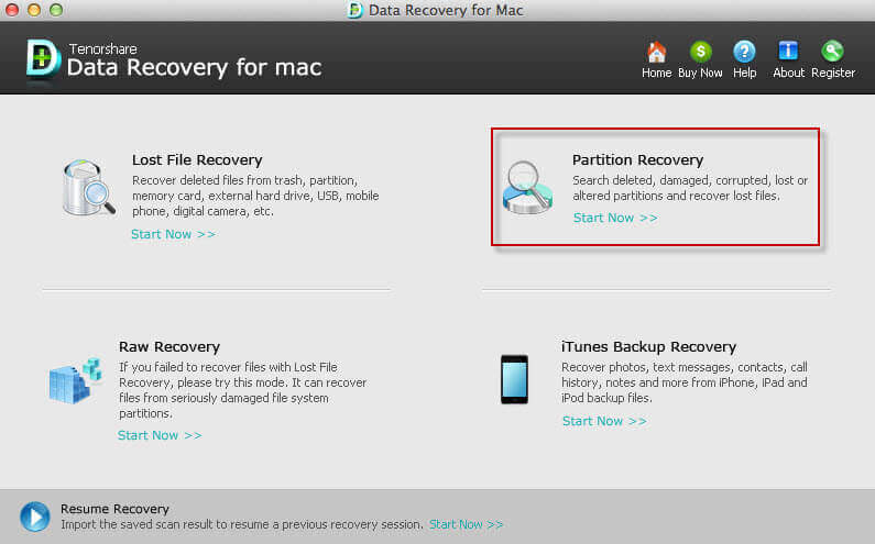 formatted partition recovery mac