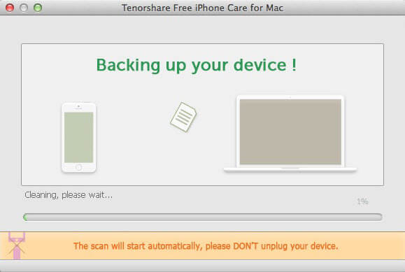tenorshare free iphone care for mac