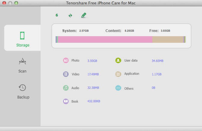 how to clean up iphone mac