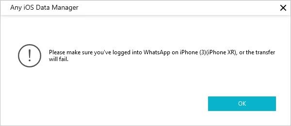 logged whatsapp on iphone
