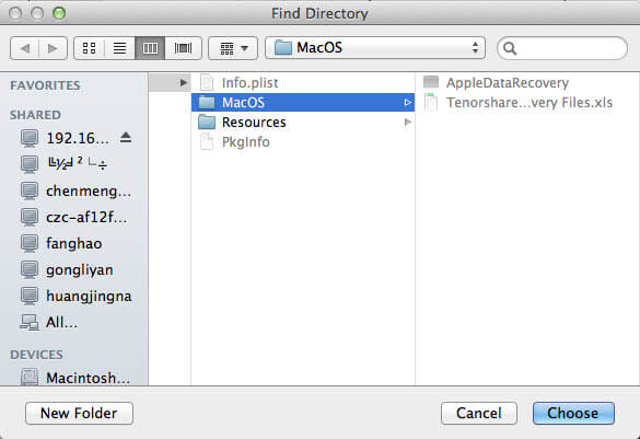 recover ios files on mac without backup