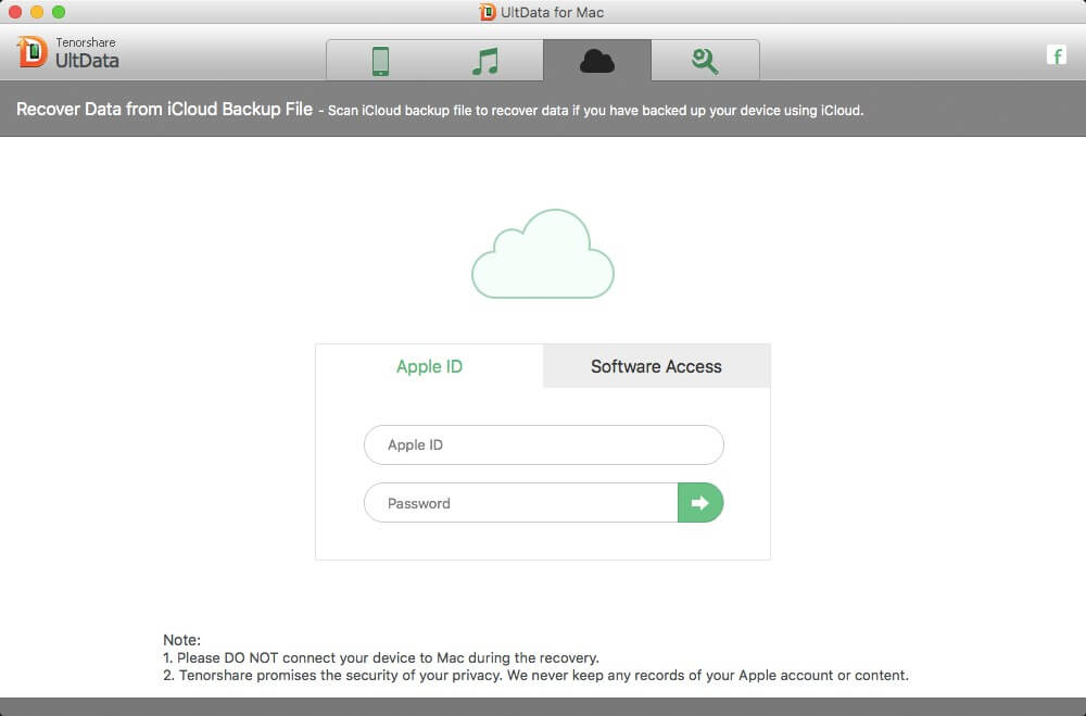 restore ios data from icloud backup