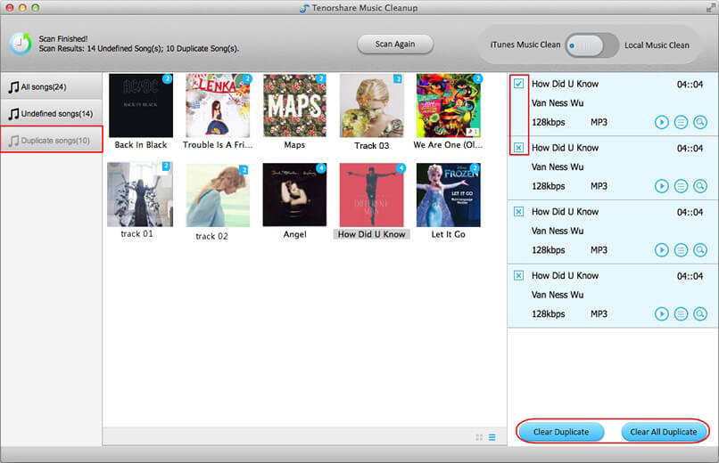 how to repair mislabeled songs in iTunes on mac