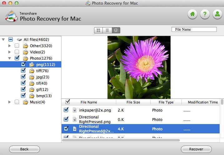 Select Photo You Need to Recover