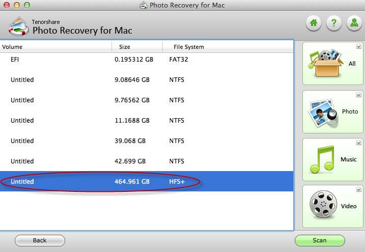 recover pictures on mac