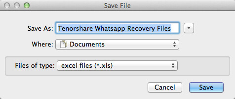 whatsapp messages recovery mac