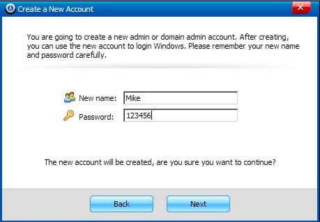 windows password reset software
