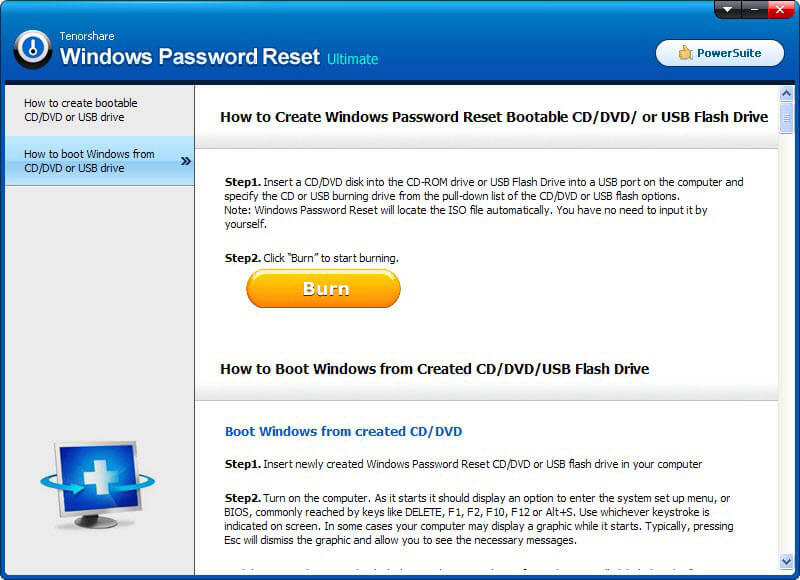windows 8.1 password removal