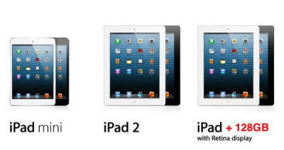 iPad 4 With 128GB: Apple Unveils Its Biggest Tablet Yet