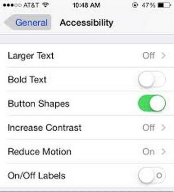 what's the new features in apple ios 7.1