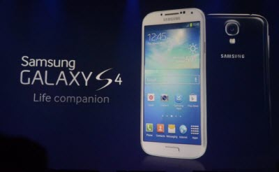 Samsung Galaxy S4 Lands on US