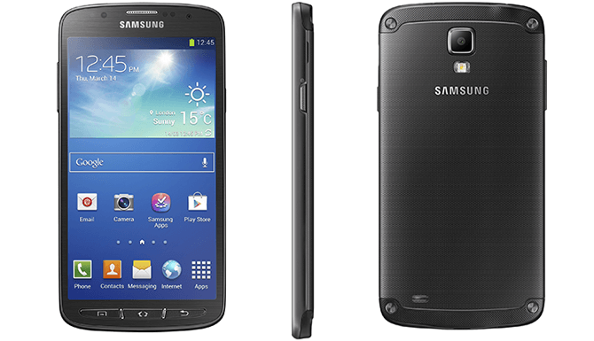 Samsung galaxy s4 active features