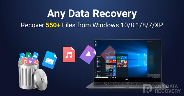 amazing any data recovery serial key