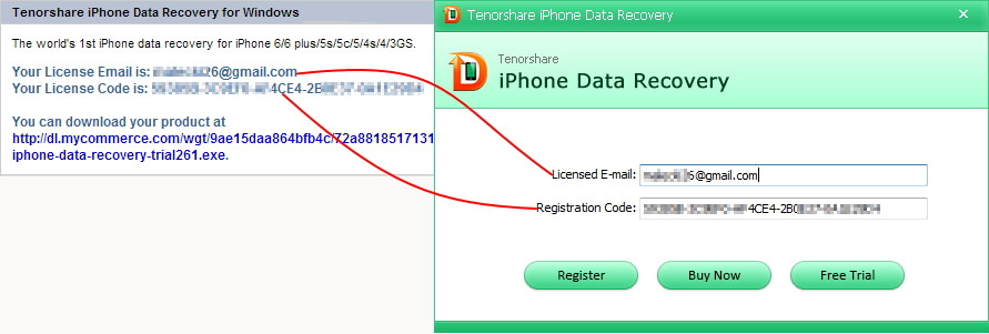 Tenorshare registration code not working | Tenorshare UltData 8
