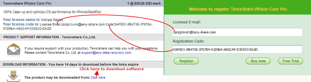 registration key reiboot