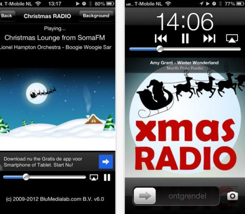best christmas app for iphone free