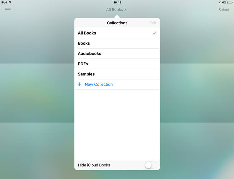 restore pdf in ibooks