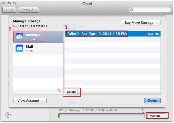 How to Delete iCloud Backup Files on PC/Mac Computer, iPhone, iPad ...