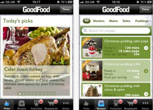 best christmas apps for iphone 2013