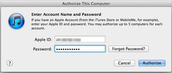 recover itunes account id
