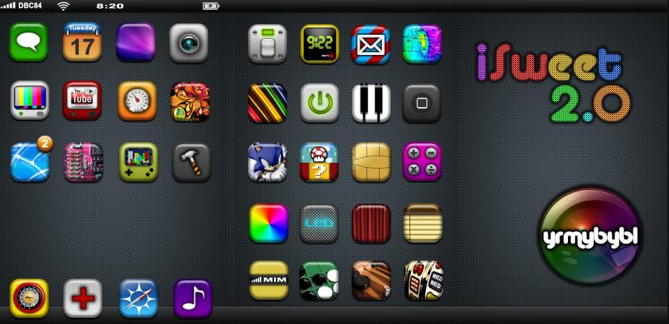 free iphone icon theme