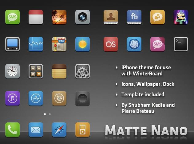 free iphone icon themes