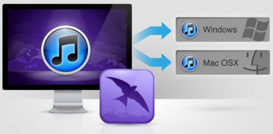 transfer itunes library to new computer