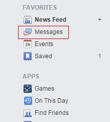 retrieve deleted facebook messages on android device