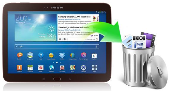 recover files from samsung tablet