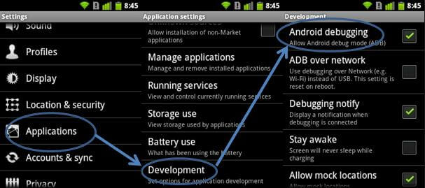 how to install apk file android