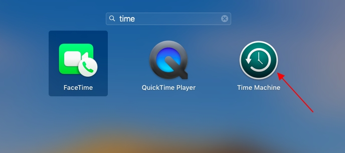 restore data from imac with time machine