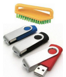 wipe flash drive