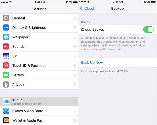 iTunes Cannot Backup iPhone 7/SE/6s Plus/6s/6 Plus/6/5S/5C/5/4S/4 - How to Backup iPhone Data