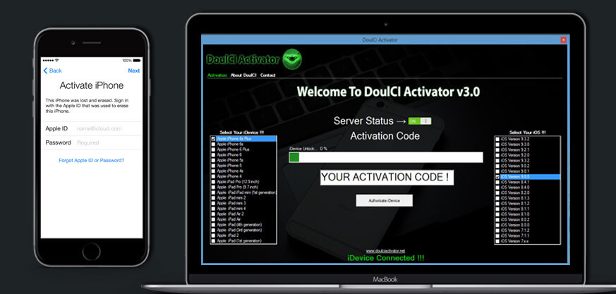 doulci activator key
