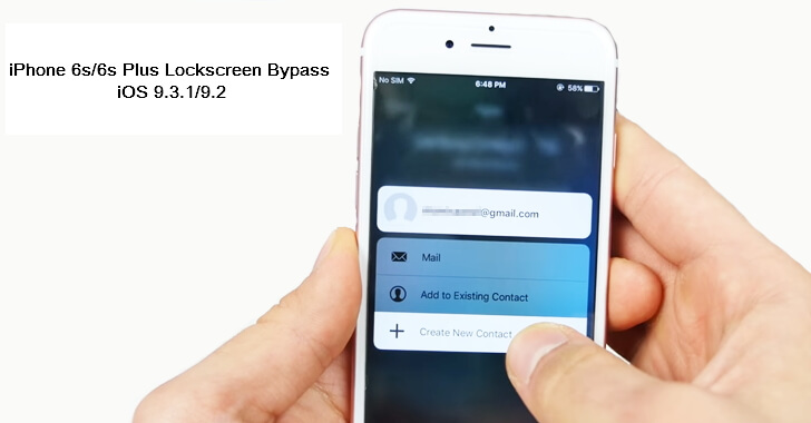 iphone lockscreen bypass