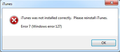 Your apple application support was not found windows error 2 22nd January