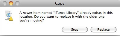 how to fix a locked itunes library.itl file