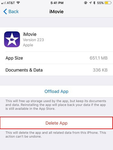 remove data from iphone 2019 top 3 ways to delete apps on iphone with ios 12 11 10 7052
