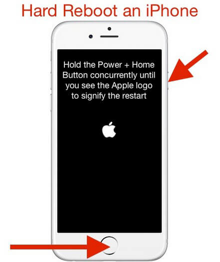 force reset iPhone